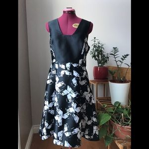 ✨ RW&CO Black & White evening dress